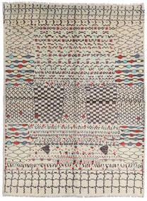 Moroccan Berber - Afghanistan Tapis 178X240 Moderne Fait Main Gris Clair/Marron (Laine, Afghanistan)