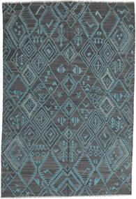 Kilim Moderne Tapis 197X291 Moderne Tissé À La Main Bleu Clair/Bleu (Laine, Afghanistan)