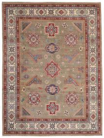Kazak Tapis 268X358 D'orient Fait Main Gris Clair/Marron Clair Grand (Laine, Afghanistan)