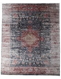 Damask Collection Tapis 239X297 Moderne Fait Main Gris Clair/Gris Foncé ( Inde)