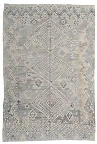 Kilim Moderne Tapis 212X295 Moderne Tissé À La Main Gris Clair (Laine, Afghanistan)