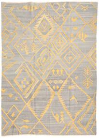 Kilim Ariana Tapis 208X287 Moderne Tissé À La Main Gris Clair/Beige (Laine, Afghanistan)