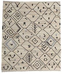Kilim Moderne Tapis 254X289 Moderne Tissé À La Main Gris Clair/Gris Foncé Grand (Laine, Afghanistan)