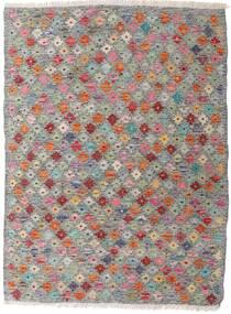 Kilim Afghan Old Style Tapis 87X117 D'orient Tissé À La Main Gris Clair/Gris Foncé (Laine, Afghanistan)