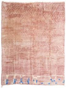 Berber Moroccan - Mid Atlas Tapis 305X396 Moderne Fait Main Rose Clair/Beige Grand (Laine, Maroc)