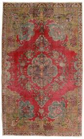 Vintage Heritage Tapis 140X230 Moderne Fait Main Marron Foncé/Rouge Foncé (Laine, Perse/Iran)