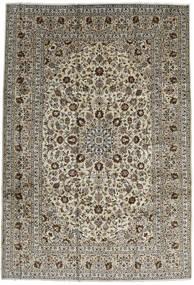 Kashan Tapis 246X357 D'orient Fait Main Marron Foncé/Noir (Laine, Perse/Iran)