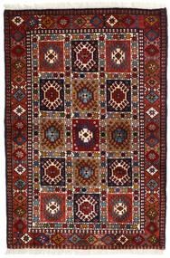 Yalameh Tapis 104X154 D'orient Fait Main Rouge Foncé (Laine, Perse/Iran)