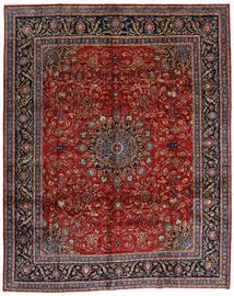 Mashad Tapis 304X378 D'orient Fait Main Rouge Foncé/Gris Foncé Grand (Laine, Perse/Iran)