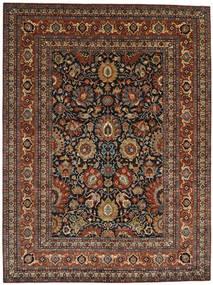 Farahan Tapis 299X396 D'orient Fait Main Marron Foncé/Marron Clair Grand (Laine, Pakistan)
