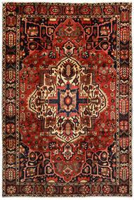 Bakhtiar Tapis 214X316 D'orient Fait Main Marron Foncé/Rouge Foncé (Laine, Perse/Iran)