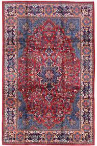 Golpayegan Tapis 210X322 D'orient Fait Main Violet Foncé/Violet Clair (Laine, Perse/Iran)