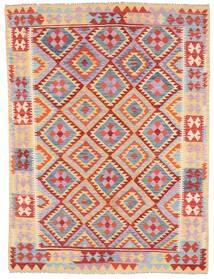 Kilim Afghan Old Style Tapis 179X240 D'orient Tissé À La Main Violet Clair/Marron Clair (Laine, Afghanistan)