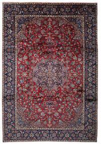 Najafabad Tapis 262X375 D'orient Fait Main Noir/Gris Clair Grand (Laine, Perse/Iran)