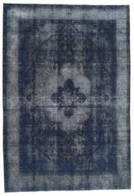 Vintage Heritage Tapis 197X283 Moderne Fait Main Bleu Foncé/Gris Foncé (Laine, Perse/Iran)