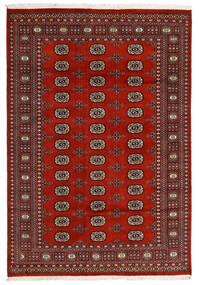 Pakistan Boukhara 2Ply Tapis 166X240 D'orient Fait Main Noir/Rouge Foncé/Marron Foncé (Laine, Pakistan)