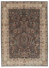Kerman Lavar Tapis 250X348 D'orient Fait Main Gris Clair/Noir Grand (Laine/Soie, Perse/Iran)