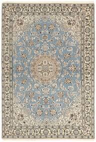 Naïn 9La Tapis 115X175 D'orient Fait Main Gris Clair/Beige (Laine/Soie, Perse/Iran)