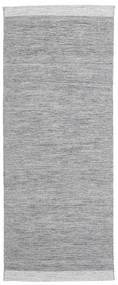 Serafina - Gris Foncé Melange Tapis 100X250 Moderne Tissé À La Main Tapis Couloir Gris Clair (Laine, Inde)
