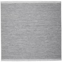 Serafina - Gris Foncé Melange Tapis 250X250 Moderne Tissé À La Main Carré Gris Clair/Bleu Clair Grand (Laine, Inde)