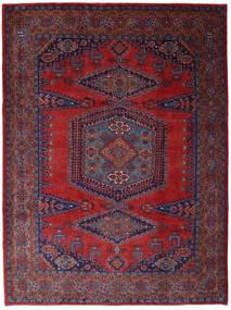 Wiss Tapis 253X344 D'orient Fait Main Rouge Foncé/Violet Foncé Grand (Laine, Perse/Iran)