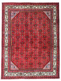 Hosseinabad Tapis 150X198 D'orient Fait Main Rouge/Marron Foncé (Laine, Perse/Iran)
