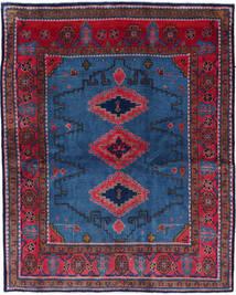 Wiss Tapis 180X228 D'orient Fait Main Bleu Foncé/Noir (Laine, Perse/Iran)
