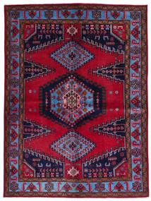 Wiss Tapis 157X211 D'orient Fait Main Rouge Foncé/Violet Foncé (Laine, Perse/Iran)