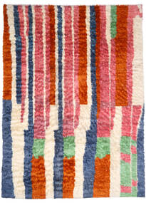 Moroccan Berber - Afghanistan Tapis 245X346 Moderne Fait Main Rose Clair/Rouille/Rouge (Laine, Afghanistan)