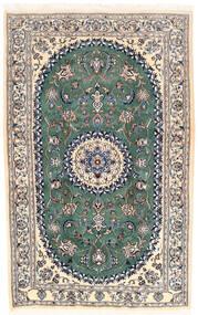 Naïn Tapis 168X253 D'orient Fait Main Gris Clair/Beige (Laine, Perse/Iran)