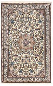 Naïn Tapis 155X255 D'orient Fait Main Gris Clair/Gris Foncé (Laine, Perse/Iran)