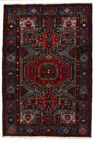 Saveh Tapis 142X210 D'orient Fait Main Rouge Foncé (Laine, Perse/Iran)