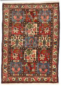 Bakhtiar Collectible Tapis 114X158 D'orient Fait Main Noir/Vert Foncé (Laine, Perse/Iran)