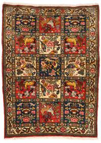 Bakhtiar Collectible Tapis 107X145 D'orient Fait Main Noir/Rouge (Laine, Perse/Iran)