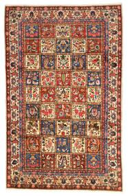 Bakhtiar Collectible Tapis 203X323 D'orient Fait Main Rouge Foncé/Noir (Laine, Perse/Iran)