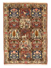 Bakhtiar Collectible Tapis 109X149 D'orient Fait Main Marron Foncé/Marron (Laine, Perse/Iran)