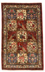 Bakhtiar Collectible Tapis 105X168 D'orient Fait Main Marron Foncé/Rouge Foncé (Laine, Perse/Iran)