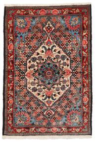 Bakhtiar Collectible Tapis 108X157 D'orient Fait Main Marron Foncé/Rouge Foncé (Laine, Perse/Iran)