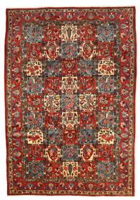 Bakhtiar Collectible Tapis 206X303 D'orient Fait Main Gris Foncé/Rouge Foncé (Laine, Perse/Iran)