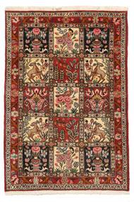 Bakhtiar Collectible Tapis 103X150 D'orient Fait Main Marron Foncé/Marron Clair (Laine, Perse/Iran)