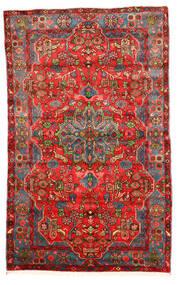 Nahavand Old Tapis 164X260 D'orient Fait Main Rouge Foncé/Rouge (Laine, Perse/Iran)