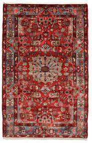 Nahavand Old Tapis 153X243 D'orient Fait Main Marron Foncé/Noir (Laine, Perse/Iran)
