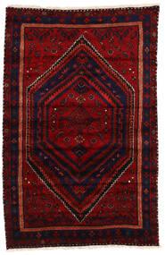 Zanjan Tapis 144X228 D'orient Fait Main Rouge Foncé/Rouge (Laine, Perse/Iran)