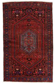 Zanjan Tapis 139X224 D'orient Fait Main Rouge Foncé (Laine, Perse/Iran)