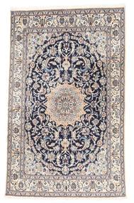 Naïn Tapis 161X259 D'orient Fait Main Gris Clair/Beige (Laine, Perse/Iran)