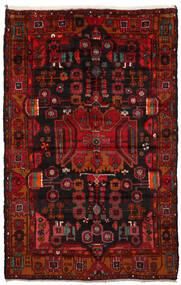 Nahavand Tapis 165X260 D'orient Fait Main Marron Foncé/Rouge Foncé/Rouille/Rouge (Laine, Perse/Iran)