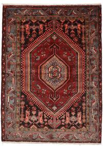 Zanjan Tapis 146X200 D'orient Fait Main Rouge Foncé (Laine, Perse/Iran)