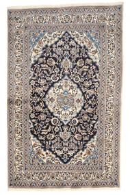 Naïn Tapis 155X249 D'orient Fait Main Gris Clair/Beige (Laine, Perse/Iran)