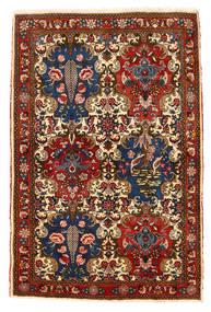 Bakhtiar Collectible Tapis 111X166 D'orient Fait Main Rouge Foncé/Marron Foncé (Laine, Perse/Iran)