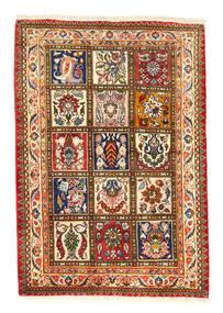 Bakhtiar Collectible Tapis 105X150 D'orient Fait Main Rouge/Gris Foncé (Laine, Perse/Iran)